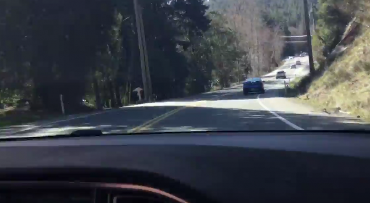 2018-03-16 - Driving Sooke Road on AP2